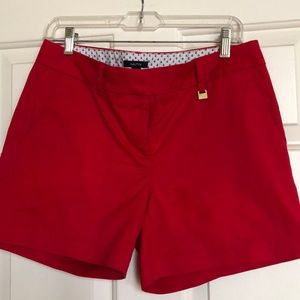Red Nautical Short